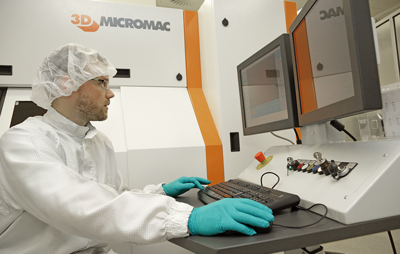 Contract Manufacturing by 3D-Micromac