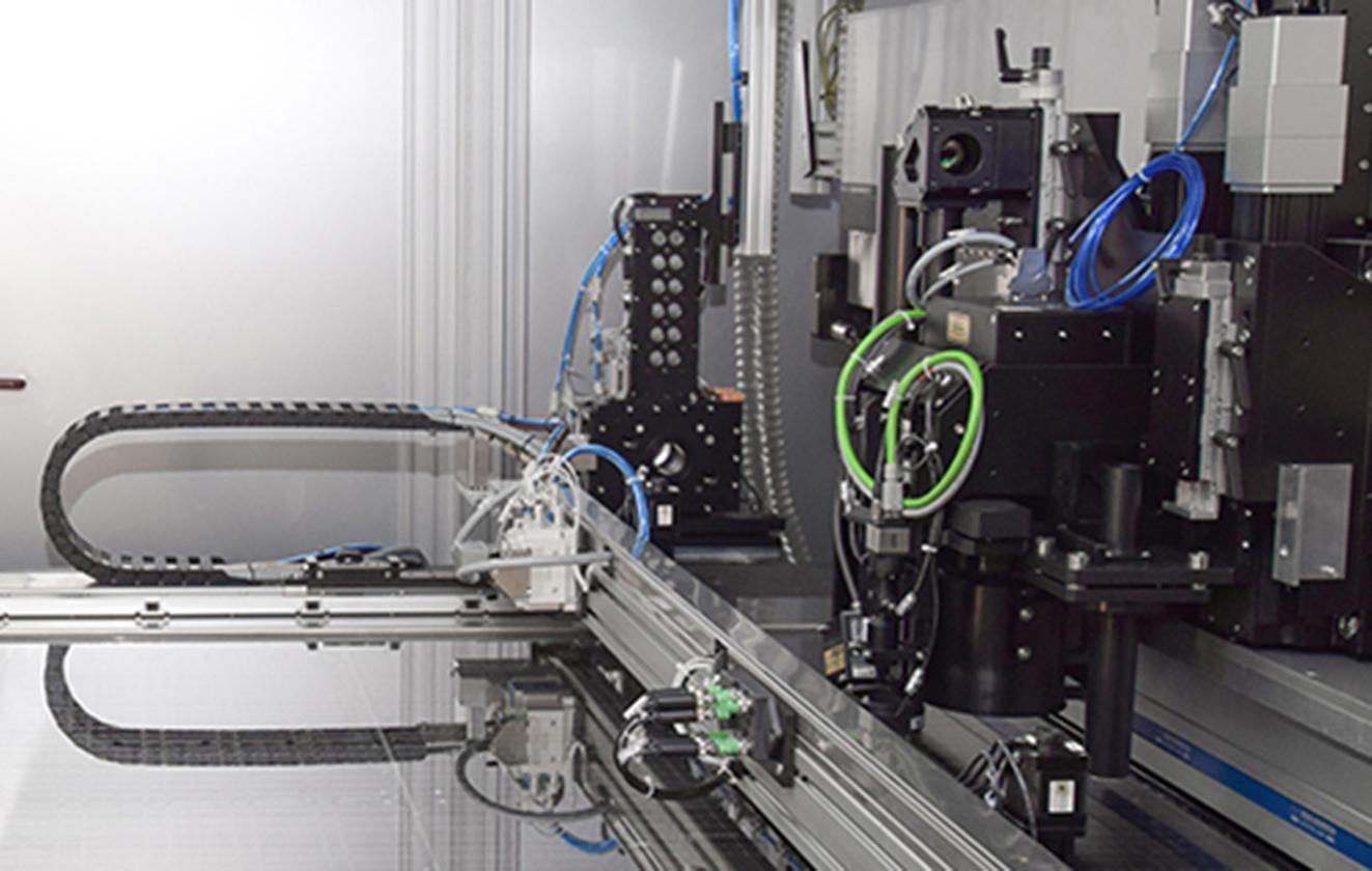 Laser process development for glass cutting